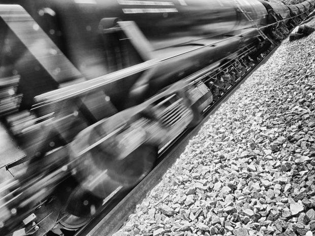 Image d'un train à grande vitesse